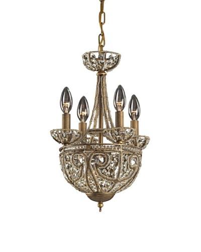 Artistic Lighting Elizabethan 5-Light Chandelier, Dark Bronze