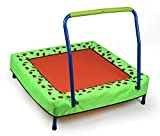 HLC Fitness Trampolin mit Griff indoor&outdoor für Kinder