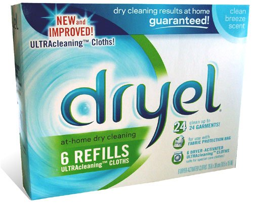 Dryel Refill Cloths, Clean Breeze 6 ea