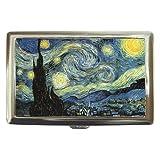 Vincent Van Gogh Starry Night Cigarette, Money, or Credit Card and ID Case ~ DesignMonaco