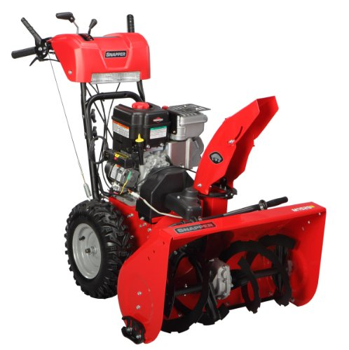 Snapper 1696175 29-Inch 7.5-Tp Dual Stage Snow Thrower With Ohv Engine And Es Starting System