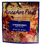 AlpineAire Foods Strawberries, Sliced, Freeze-Dried