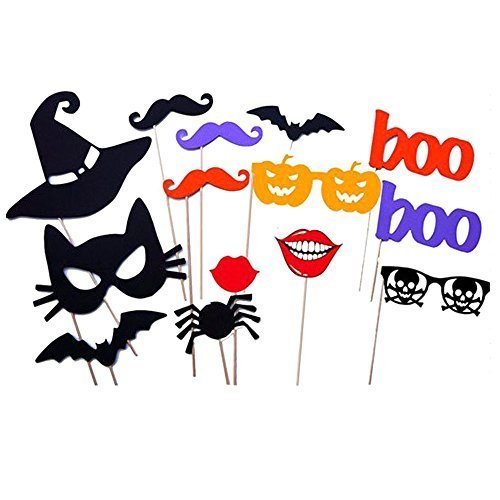 amazon 14 piece halloween photo booth props only 799 shipped reg 1599