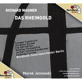 Das Rheingold: Scene 4: Hort, ihr Riesen! (Donner, Freia, Wotan, Fafner, Fasolt, Loge)
