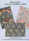 William Morris Designs: From the Collection of the Victoria & Albert Museum (Card Books) (0486261050) by Morris, William