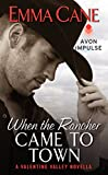 When the Rancher Came to Town: A Valentine Valley Novella