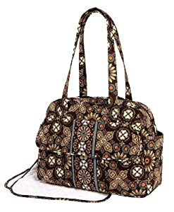 vera bradley make change baby bag in canyon diaper tote bags baby. Black Bedroom Furniture Sets. Home Design Ideas