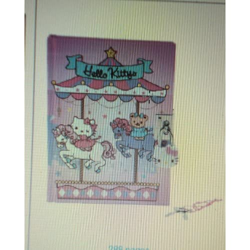 Japanese Sanrio Hello Kitty Locking Diary Carousel