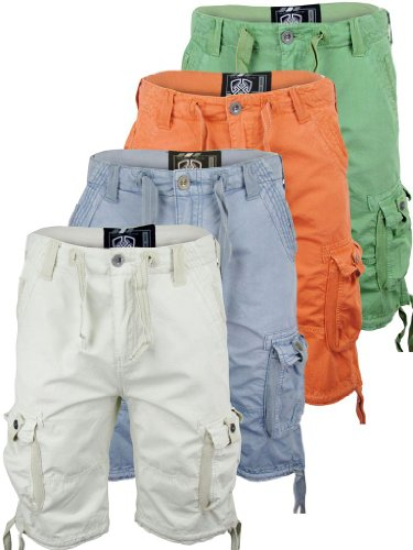 Mens Dissident Urban Combat/ Cargo Shorts 100% Cotton