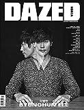 DAZED 2016年 1月号/韓国俳優イ・ビョンホン/おまけ:東方神起ポスター、東方神起はがき1枚/韓国雑誌