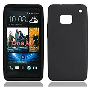 Silicone Case HTC One M7 Black