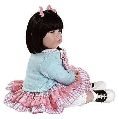 Toddler Black Brown by Adora