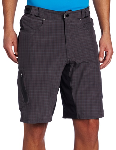 Zoic Men's Ether Plaid Mountain Bike Shorts with RPL Liner