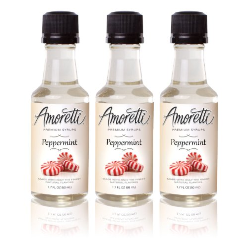 Amoretti Premium Peppermint Syrups 50ml 3 Pack