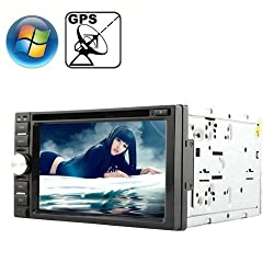 See Rungrace Universal 6.2 inch Windows CE 6.0 TFT Screen In-Dash Car DVD Player with Bluetooth / GPS / RDS Details