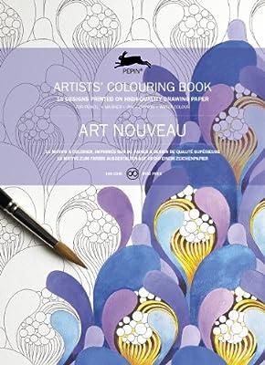 Art Nouveau: Artists' Colouring Book (Artists' Colouring Books)