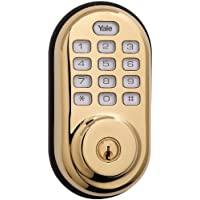 Yale Electronic Push Button Deadbolt with Z-Wave Tech