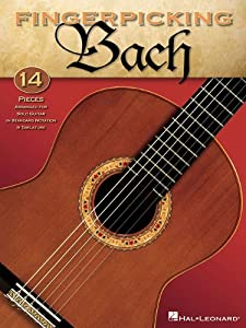 Bach Fingerpicking from Hal Leonard Corporation