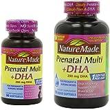 Nature Made Prenatal Multi + Dha Combo Pack, 200mg, 150 + 90 Softgels