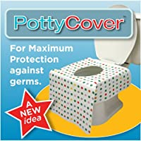 PottyCover - Disposable toilet seat covers. (6 individually packaged seat covers in each bag.) from PottyCover Co.