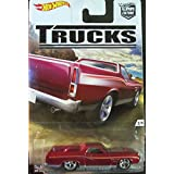 2016 Hot Wheels Car Culture Trucks Limited Edition Real Riders Metal/Metal '72 Ford Ranchero 2/5
