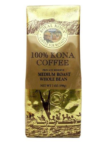 100% Kona Coffee Private Reserve Ground 7 Oz Bag