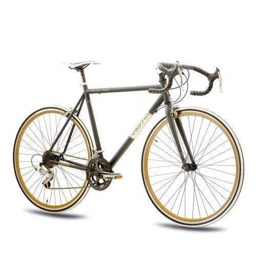 Bicicleta de carreras con estilo vintage