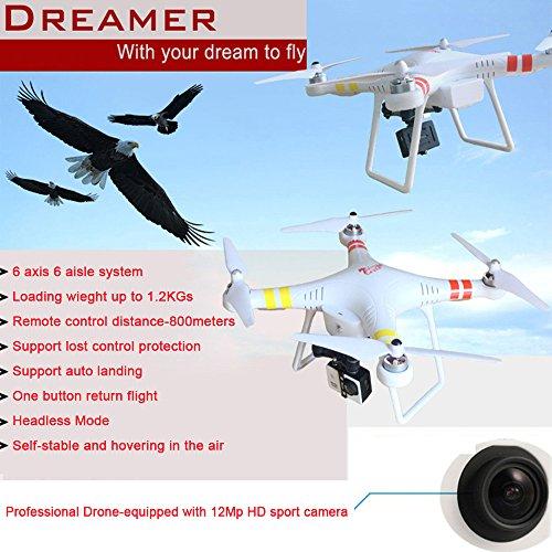 PowerLead Pqad A010 Quadcopter Smart Drone 6 Axis Gyro ...