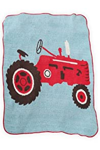 Green 3 Apparel Recycled USA-made Tractor Throw
