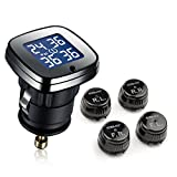STEELMATE Innovate Designed ET-780AE TPMS Anti-theft 4 Valve-cap External Sensor Aftermarket Digital Tire Pressure Monitoring System Model
