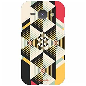 Design Worlds Back Cover For Samsung Galaxy J1 - Phone Cover Multicolor