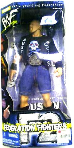 "Buy Low Price Jakks Pacific ""Stone Cold"" Steve Austin Collectible 12″ Action Figure – WWF World Wrestling Federation F2 Fighters Series (B0030I70E8)"