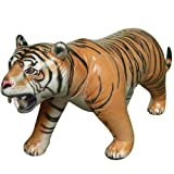 Lifelike Inflatable Tiger - Product Description - This Wonderful Inflatable Tiger Is 7'Ft Long And Is Sure To Generate Attention. These Are Great Inflatable Realistic Tigers! The Detail Is Superb And The Quality Is Unmatched Compared To Other In ...