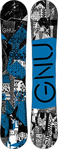 GNU Carbon Credit Wide Snowboard Mens Sz 162cm (W)