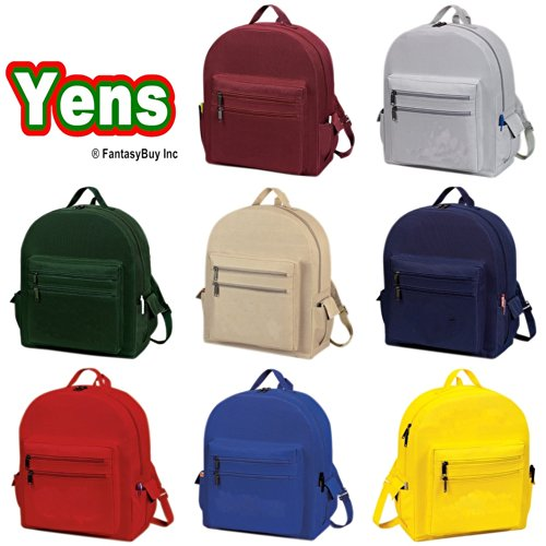Yens® Fantasybag All-Purpose Backpack- Silver Grey, 6BP-03 - 1