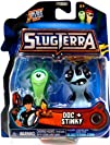 Slugterra Mini Figure 2-Pack Doc   Stinky Includes Code