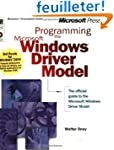 Programming the Microsoft Windows Dri...