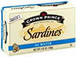 Crown Prince Sardines in Water, 4.25-...