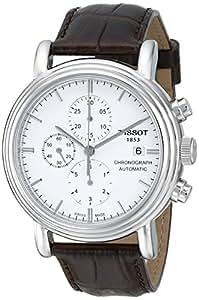 Tissot Men's T068.427.16.011.00 White Dial Carson Watch