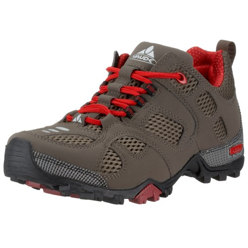 VAUDE Stone Rider Low 20123-077, Women's Walking Shoes - Brown/Red, 38.5 EU