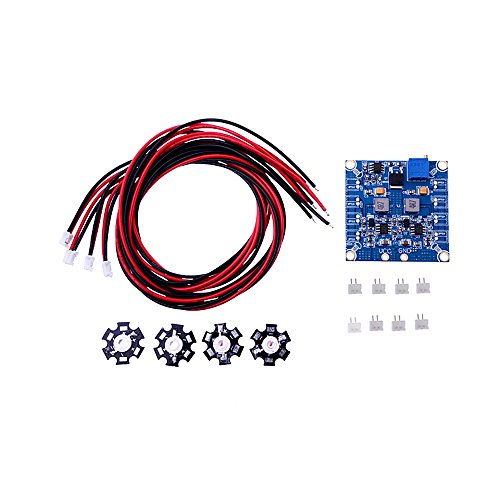 Kkmoon New Arrival Rc 4 Led Flashing Light/Night Light W/Led Board And Led Extension Wire For Quadcopter Night Fly
