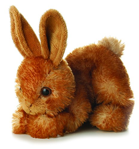"Aurora BITTY Rabbit Bunny MINI FLOPSIE 8"" Plush Beanbag - 1"