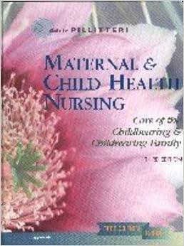 Maternal and child health nursing adele pillitteri