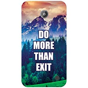 Nokia Lumia 630 Back Cover - Do More Than Exit Designer Cases