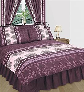 Matching Bedrooms King Duvet Cover Set With Valance And