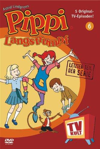 Lindgren-Edition: Pippi Langstrumpf, Teil 6 (Zeichentrick)