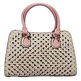 Ruff Creamy fashionable designer Handbag GRV108