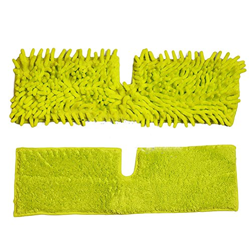 double-sided-microfibre-mop-head-cloth-pad-refill-2-pieces-1-chenille-and-1-short-pile-microfiber