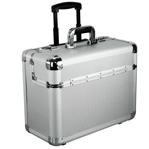 Dermata Aluminium Pilotenkoffer Trolley 46,5