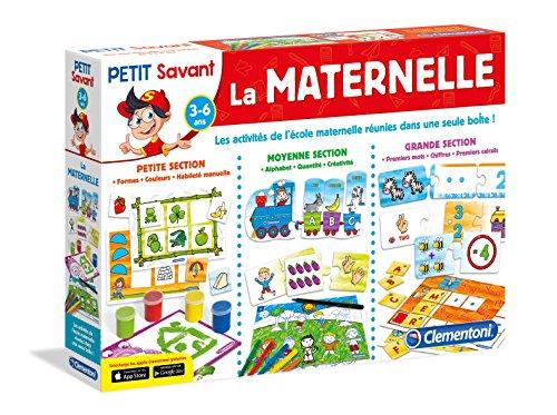 Clementoni - 62411.9 - Jeu Éducatif et Scientifique - La Maternelle
